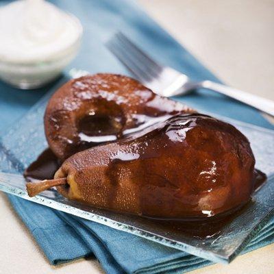 Abuelita Poached Pears