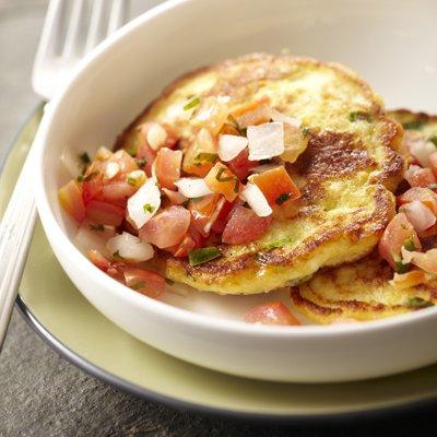 Savory Corn Pancakes