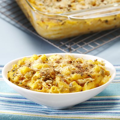 Macaroni & Cheese with Chicken & Chiles