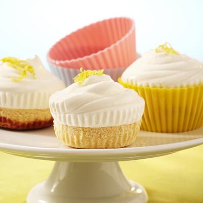 Frozen Lemonade Cupcakes
