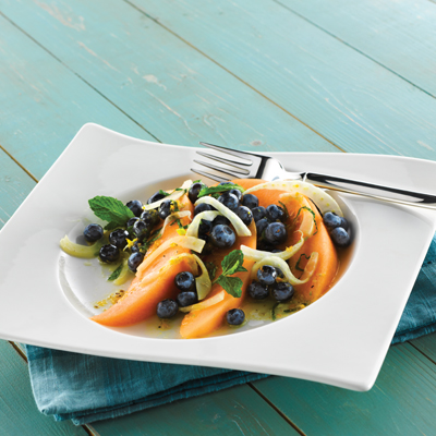Blueberry and Melon Salad