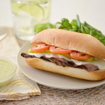 Brazilian Bauru Sandwiches