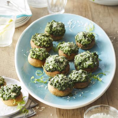 Cheesy STOUFFER'S® Spinach Stuffed Mushrooms