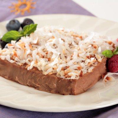 Chocolate Tembleque Custard