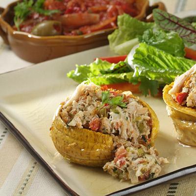 Crab Meat Piononos