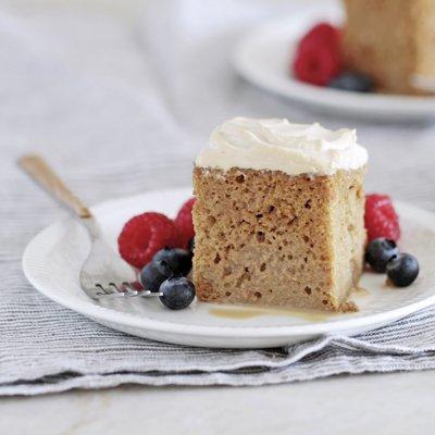 Mocha Three Milk Cake