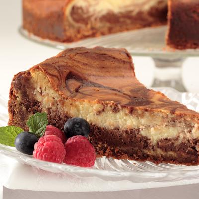 Abuelita Marble Cheesecake