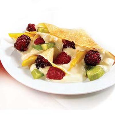 Crepas con Frutas