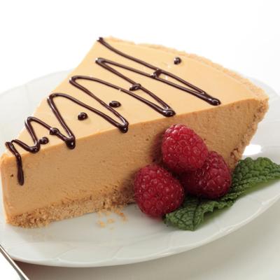 No-Bake Dulce de Leche Cheesecake