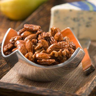 Coffee-Glazed Nuts