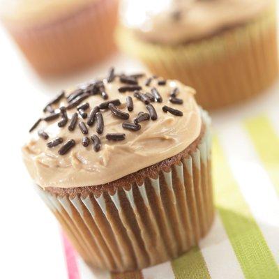 Cupcakes de Clásico con Betún de Café