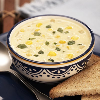 Spicy Jalapeño Corn Soup