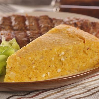 "Paraguayan ""Soup"" Cheesy Corn Bread"