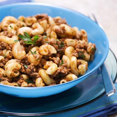 Macaroni and Tomato Beef Sauce