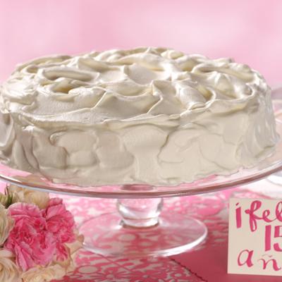 Happy 15th Three Milk Cake (Tres Leches)