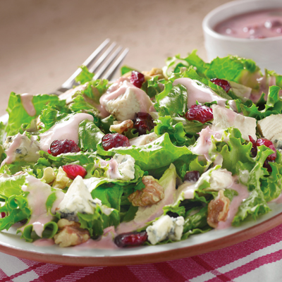 Turkey & Cranberry Encore Salad