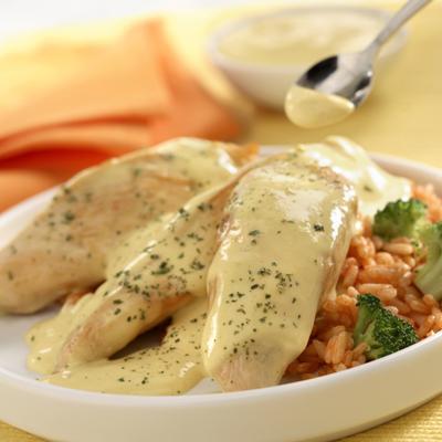 Pollo con Salsa Cremosa Dijon
