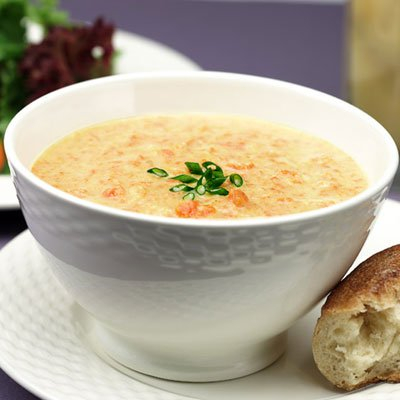 Curried Cream of Vegetable Soup