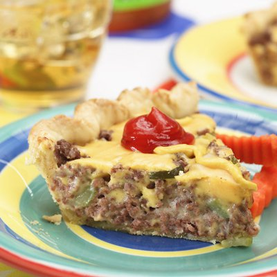 Kid's Cheeseburger Pie