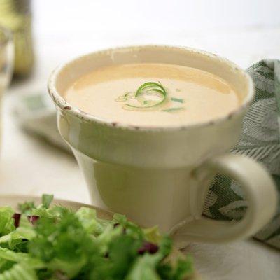Pumpkin and Gorgonzola Soup