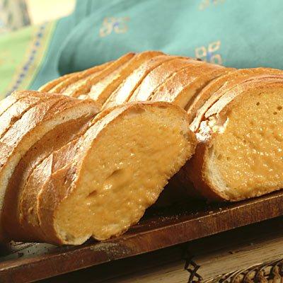 Hot Seasoned Cheese Bread