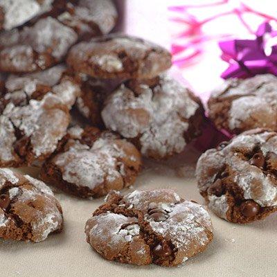 Slimmer Chocolate Crinkle-Top Cookies