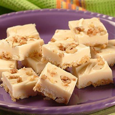 Maple Oat Fudge Squares