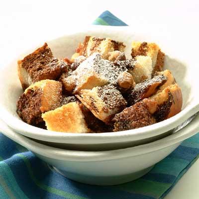 Nesquik Bread Pudding