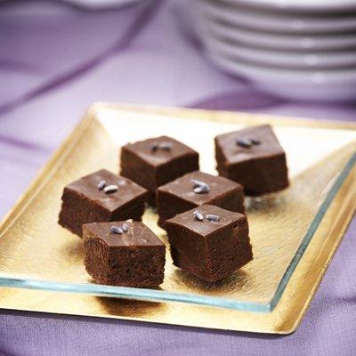 Lavender Chocolate Fudge