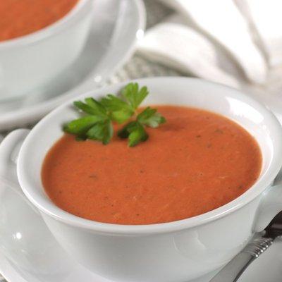 Creamy Tomato Soup with Italian Flavors