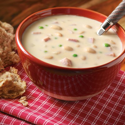 Ham-It-Up White Bean Soup