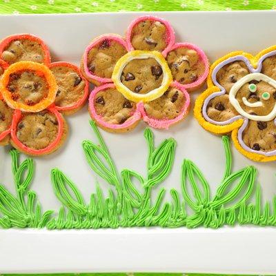 Easy Daisy Flower Cookies