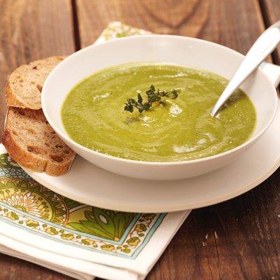 Cream of Broccoli-Leek Soup