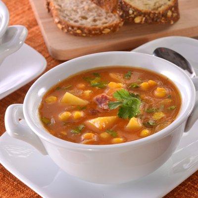 Sopa de maíz y calabaza picante Libby's®