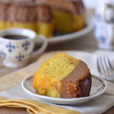 Reverse Flan Impossible (Flan Cake)