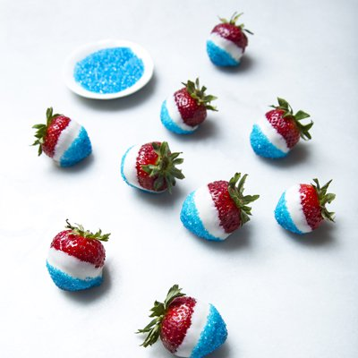 Red, White & Blue Berries
