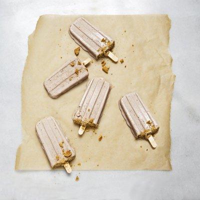 Frozen White Chip Banana Pops