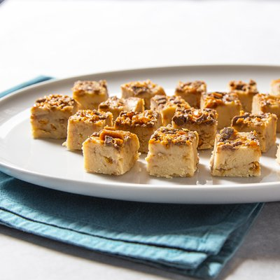 White Chocolate Toffee Fudge