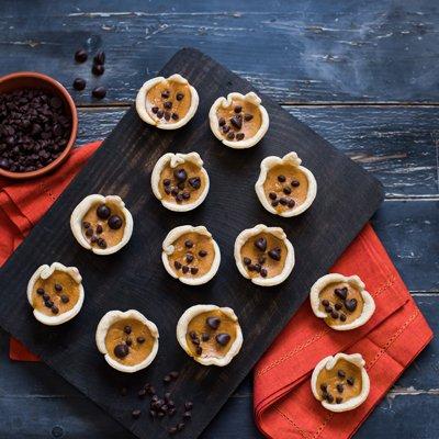 Easy Mini Pumpkin Jack-O-Lantern Pies