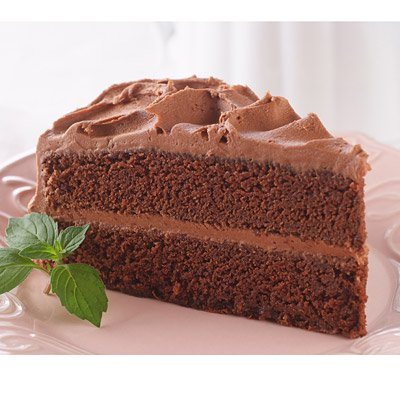 Delicious Chocolate Cake with Rich & Creamy Chocolate Frosting