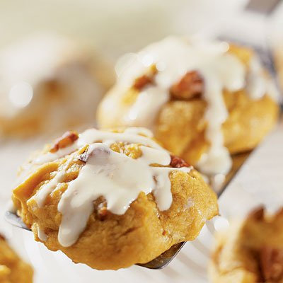 Pumpkin Orange Cookies
