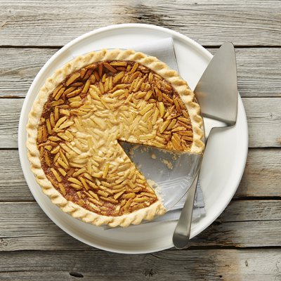 Pumpkin Almond Pie