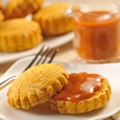 Pumpkin Maple Biscuits