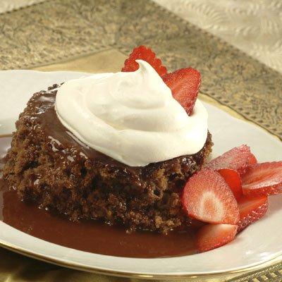 Warm Mocha Pudding Cake