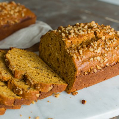 Spiced Pumpkin Nut Bread