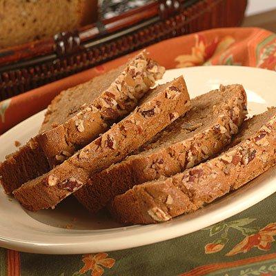 Pan de nuez de café con especias