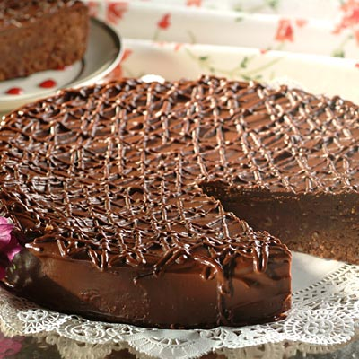 French Chocolate Hazelnut Cake