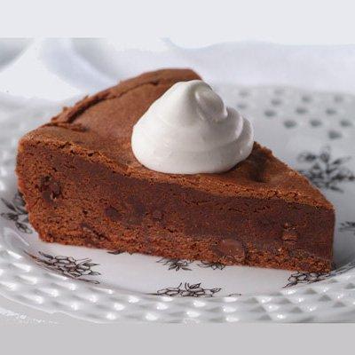 Chocolate Decadence with Sweetened Cream