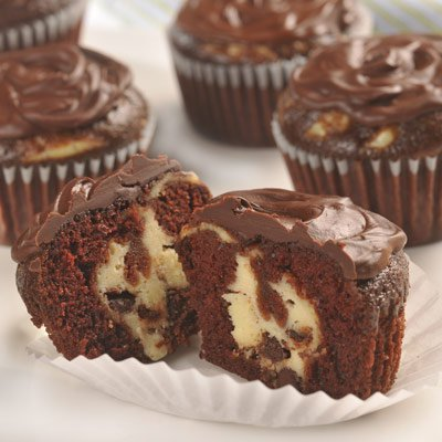 Pastelitos De Chocolate Con Queso