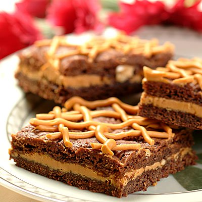 Rich Peanut Butterscotch Brownies
